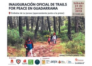 Trails for peace Guadarrama