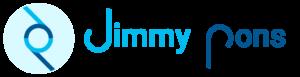 Logo Jimmy Pons azul turquesa