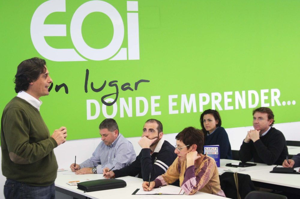 Taller Mindfulness Emprendedores Coworking EOI