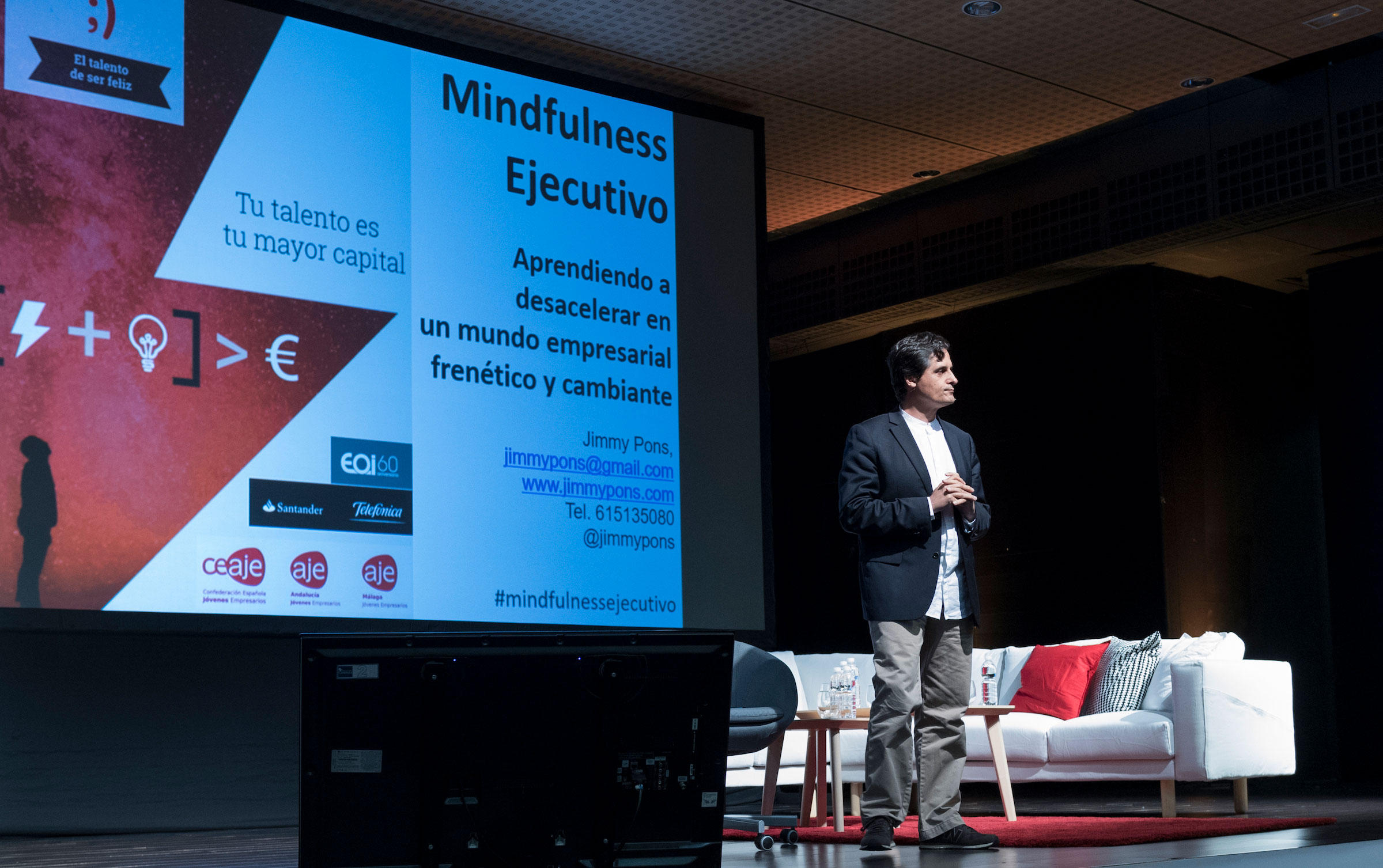 Jimmy Pons Mindfulness Ejecutivo