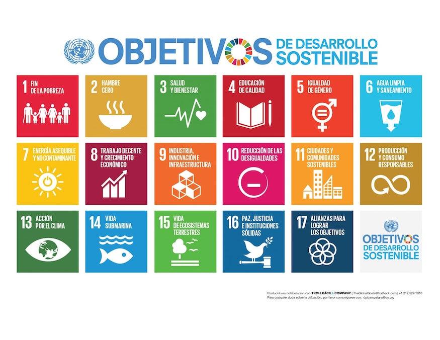 Curso 17 objetivos desarrollo sostenible