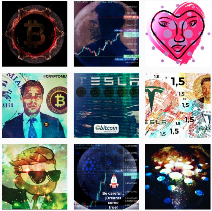 Instagram Obras criptoarte